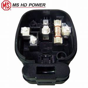 Ms Hd Power Ms328rh 13a Uk Plug  Rhodium Plated