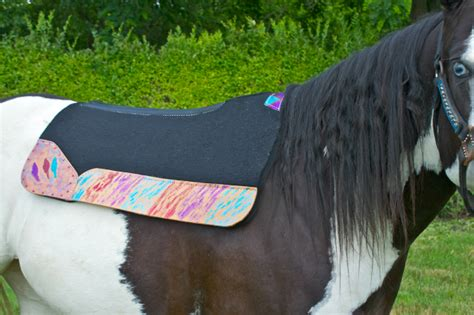 saddle pads ever horse horses glittery pad glitter painted tack western saddles hand heels gear