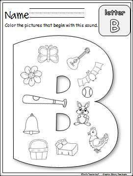 beginning b sounds worksheet is an easy and way to 115 | 4f8fc1a3333c30680a3017e97cfeaa53