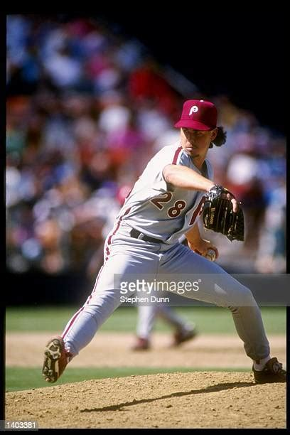 worlds  philadelphia phillies mitch williams stock pictures   images getty images