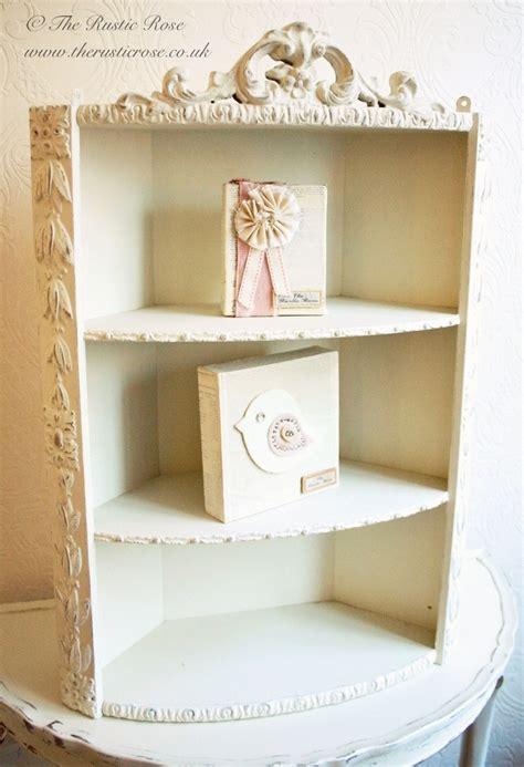 shabby chic corner shelf sweet shabby chic corner shelves shelves pinterest