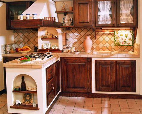 Cucina In Muratura Rustica Foto 30 cucine in muratura rustiche dal design classico