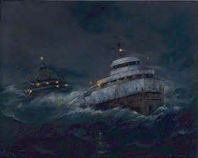 the edmund fitzgerald this ship sank in lake superior on