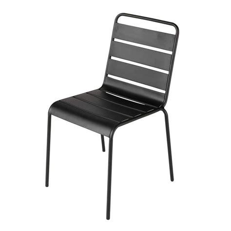 chaise de jardin maison du monde chaise de jardin en métal batignolles maisons du monde