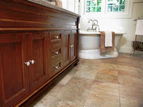 Bathroom Flooring Options Ideas by Beautiful Bathroom Floors From Diy Network Diy Bathroom