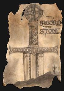 King Arthur Designs The Sword In The Stone Celtic Sword