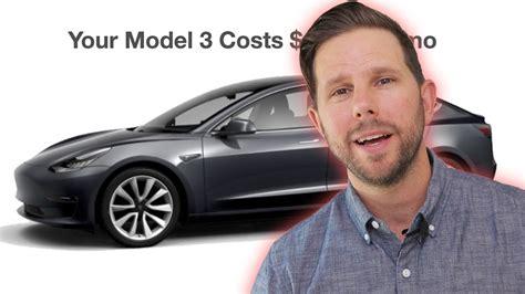 View Tesla 3 Cost Breakdown PNG
