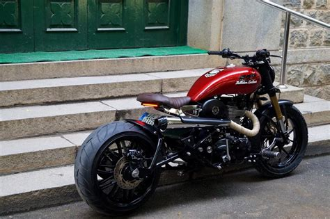 Modif Baik Imeja by Modified Royal Enfield Bikes Inspired By Captain America