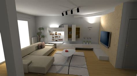 Arredi Interni Moderni Progettazione E Rendering Fotorealistici Outlet Arreda