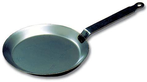 black steel  crepe pan matfer usa kitchen utensils