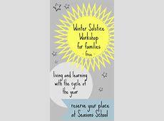 Winter Solstice activities for children at Seasons School