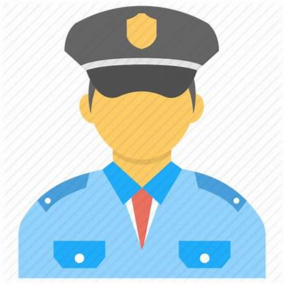 Security Guard Icon Officer Police Duty Bodyguard