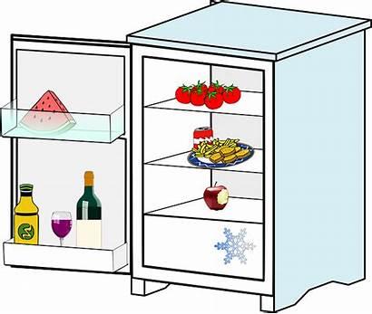 Refrigerator Kitchen Pixabay Appliance Fridge Clip Freezer