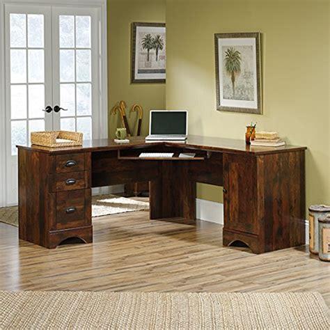 sauder salt oak corner desk sauder computerdeskshop