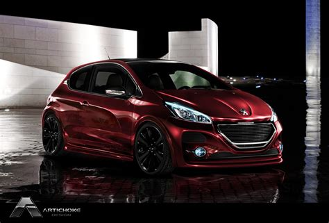 awesome peugeot car awesome photoshop custom cars by richard andersen 187 we