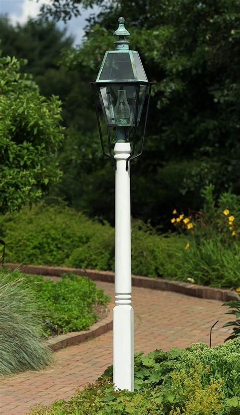 wood outdoor lamp posts post rustic wooden poles lantern