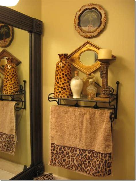 bathroom towels decoration ideas 17 best images about leopard golden bathroom on