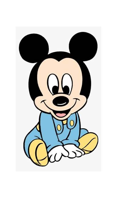 Mickey Mouse Bebe Minnie Clipart Shower Disney