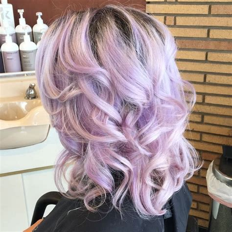 Best 25 Light Purple Hair Ideas On Pinterest Colored