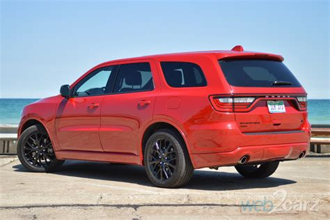 dodge durango rt blacktop awd webcarz