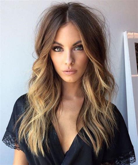 marvelous long caramel balayage layered hairstyles    trendy  viral hairstyle