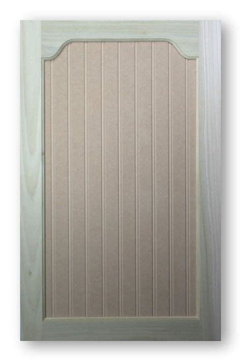 Paint Grade Country Arch Top Cabinet Door
