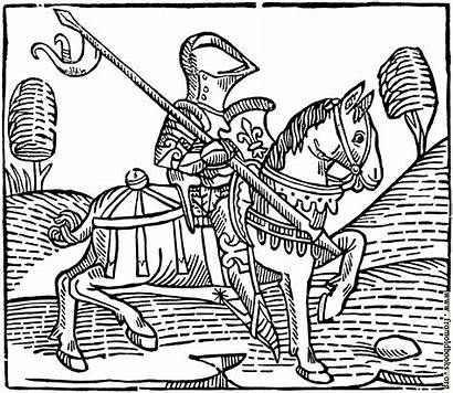 Knight 1373 Cut Wood Medieval Woodcut Chess