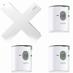 Tete Thermostatique Connectée : schneider electric wiser pack chauffage eau chaude ~ Melissatoandfro.com Idées de Décoration
