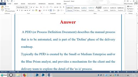blue prism rpa interview questions   pdd