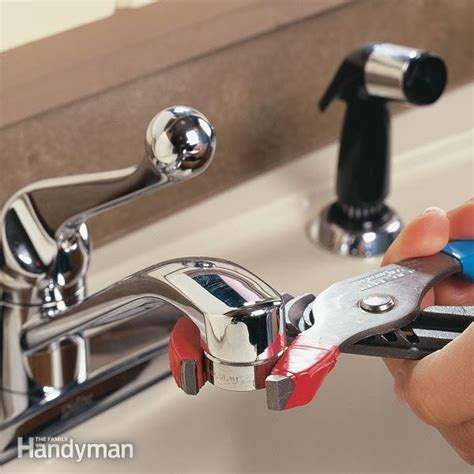 Unclog a Kitchen Faucet Aerator   The Family Handyman