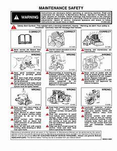 Bobcat 953 Skid Steer Loader Service Repair Manual