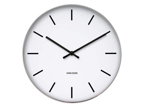 horloge de bureau horloge et blanche en métal kollori com