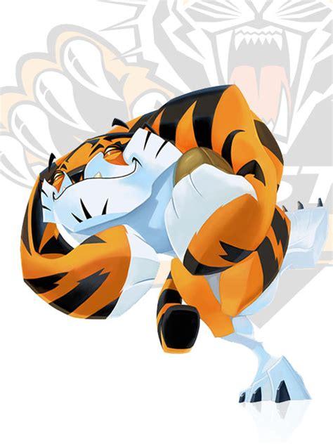 Elementary School Tiger Mascot