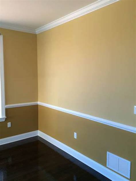 chair rail molding molding and painting experts