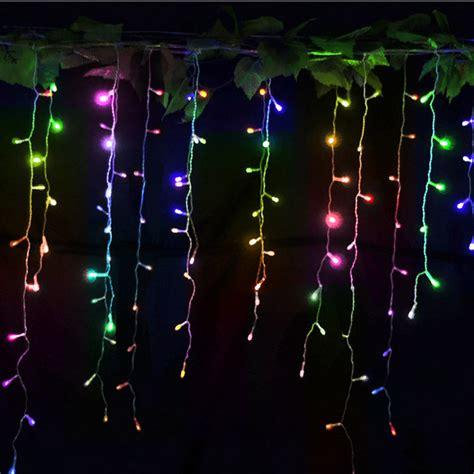 led christmas night lights 220v led string christmas lights outdoor 96 leds night