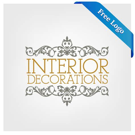 free vector interior decorations logo download in ai eps format