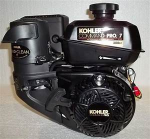 Kohler Horizontal 7 Hp Command Pro 2 1 Gear Reduction With Clutch  Ch270