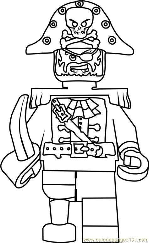 ninjago captain soto coloring page  lego ninjago