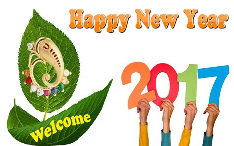 New Year 2017 Wallpaper & Hd Background Images Free