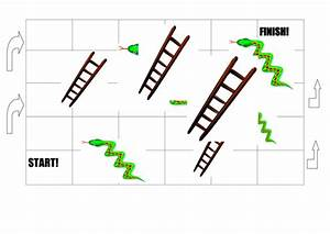 snakes and ladders game board by hayley2504 teaching With make your own snakes and ladders template