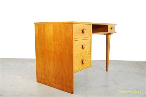 bureau design vintage vintage jaren 50 eikenhouten bureau design de