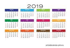 desk calendar printable template images
