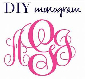 4 best images of printable free monogram fonts create a for Create monogram free