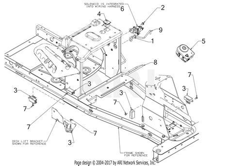 troy bilt acjd tbr hydro  parts diagram