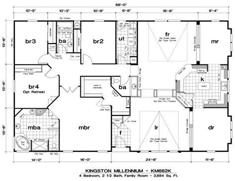 5 Bedroom Double Wide Mobile Home Floor Plans