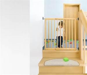 Barriere De Securite Escalier : barri re de s curit enfant extensible visser en bois ~ Melissatoandfro.com Idées de Décoration