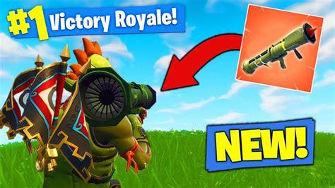 new legendary guided missile gameplay in fortnite bat