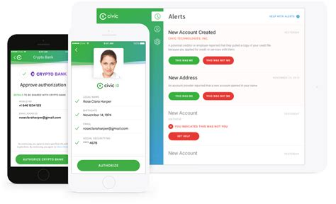 civic identity verification secure protect identities