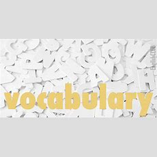 What Is Vocabulary?  Vocabulary Englishclub