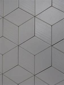 Carrelage Hexagonal Blanc : imitation carreau ciment en relief effet 3d natucer ~ Premium-room.com Idées de Décoration